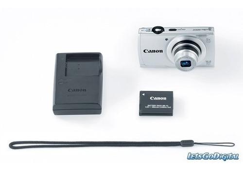 camara canon powershot a2600 16mp 5x hd + 4gb + estuch + trí