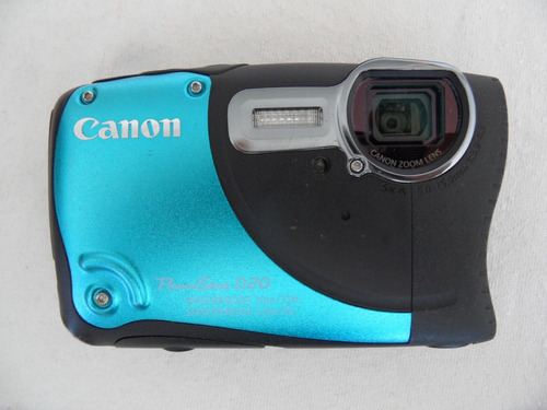 camara canon powershot d20 -refacciones o reparacion-