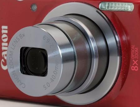 cámara canon powershot elph 160 plateado + men 16gb