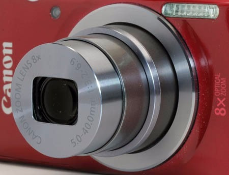cámara canon powershot elph 160 plateado + men 8gb