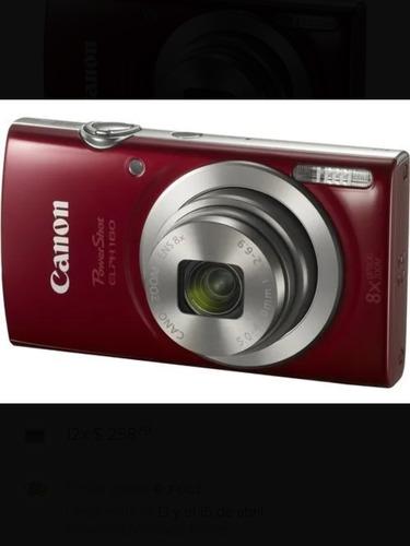 cámara canon powershot elph 180 de 20mpx 8x zoom