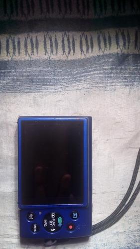 camara canon powershot elph 190 is, x10 optical zoom, azul.