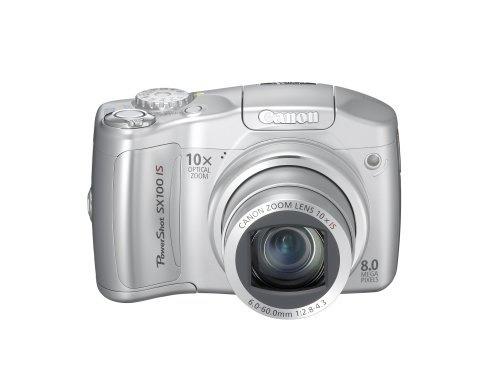 cámara canon powershot sx100is 8mp digital 10x silver