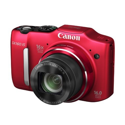 cámara canon powershot sx160 is 16.0mp 16x 3.0  lcd old