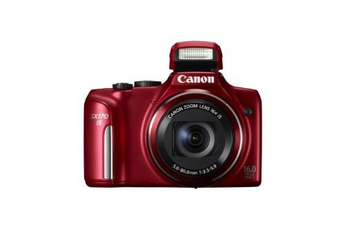 cámara canon powershot sx170 is 16.0 mp digital