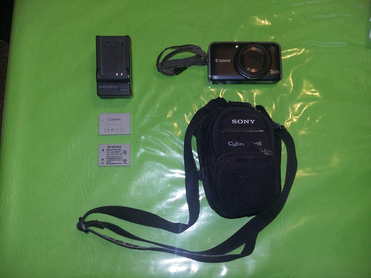 Camara - Canon Powershot Sx210 Is 14 Mp- Excelente Estado - $ 4 500,00