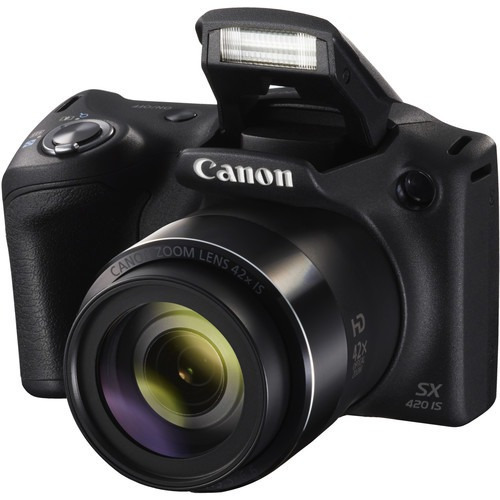 camara canon powershot sx420 is negra