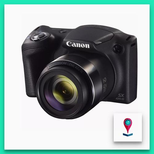 cámara canon powershot sx420 zoom 42x smart auto wi-fi hd