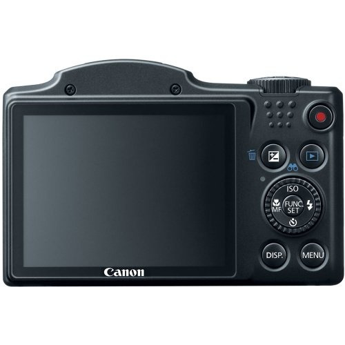 cámara canon powershot sx500 is 16.0mp 30x 3.0  lcd old