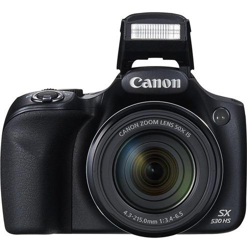 cámara canon powershot sx530 hs, 50x zoom