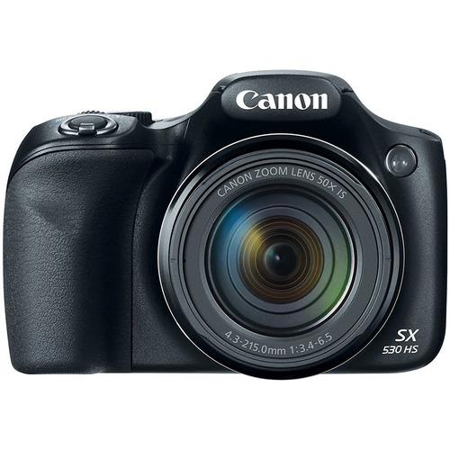 cámara canon powershot sx530 hs + lexar de 16gb clase 10