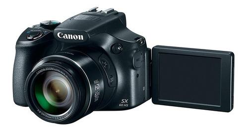 cámara canon powershot sx60 hs 16 mp zoom 65x