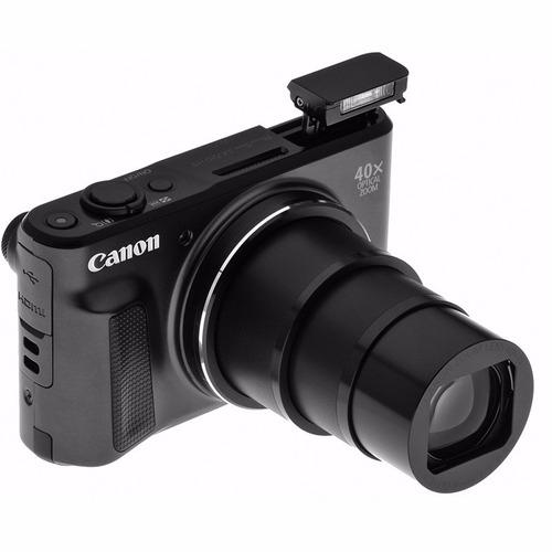 cámara canon powershot sx720 hs negro wifi 20mpx