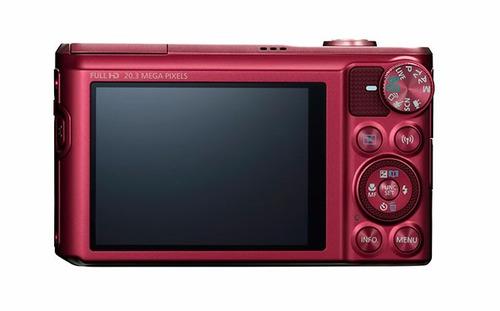 cámara canon powershot sx720 hs rojo zoom 40x wifi nfc