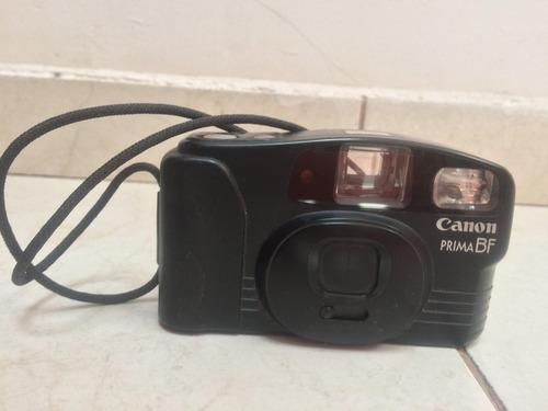 cámara canon prima bf