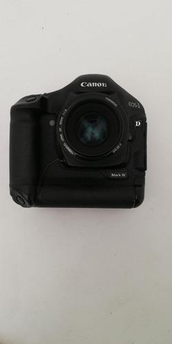 cámara canon profesiona 1d mark iv 10fps lente memoria ganga