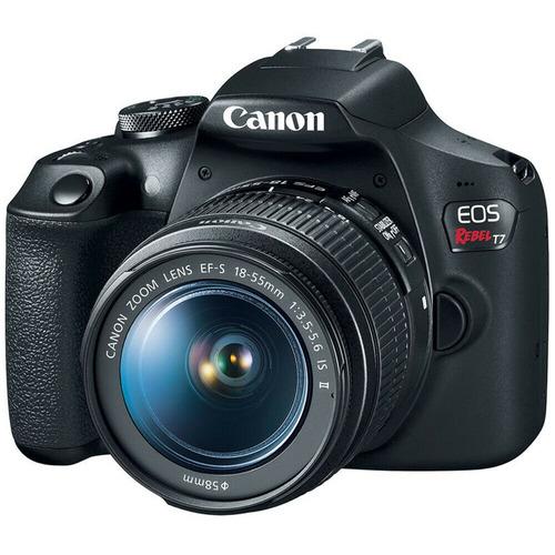 camara canon profesional t7 lente 18-55mm 24,1 mpx wifi 2020