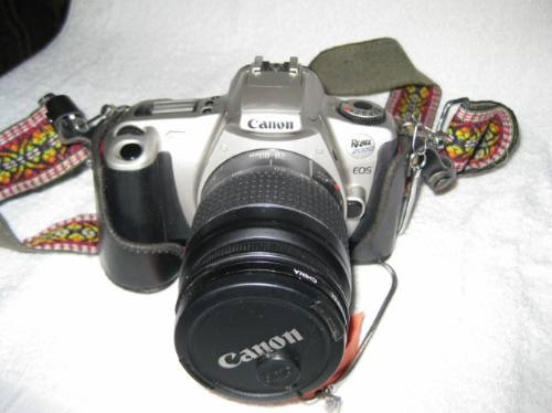 camara canon rebel 2000  coleccion, al  100%