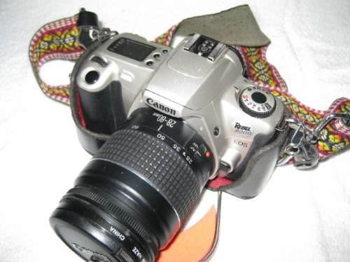 camara canon rebel 2000  d´coleccion, funcion 100%