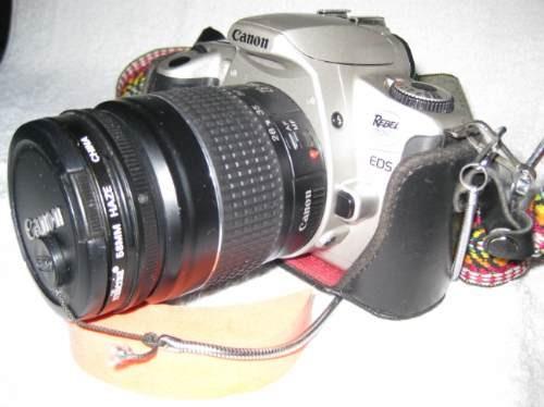 camara canon rebel 2000  d´coleccion, funcion 100%  ndd