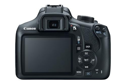 cámara canon rebel eos t6 lentes 18-55 mm y 55-250 mm