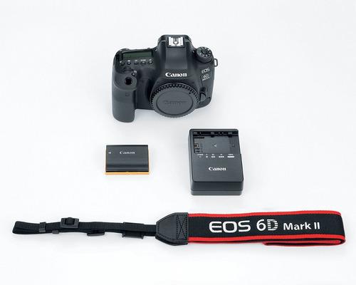 camara canon reflex eos 6d mark ii cuerpo nuevas selladas