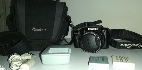 cámara canon semiprofesional sx500 is