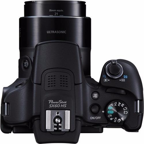 cámara canon semiprofesional  sx60 hs 65x zoom wifi