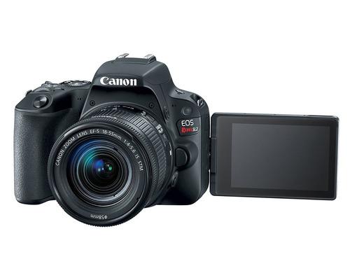 camara canon sl2 kit 18-55 video full hd 60p sellada + 18msi