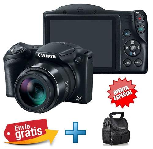 camara canon sx410 20mp 80x zoom plus hd black friday!!!