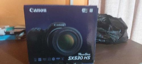 cámara canon sx530 16mp, zoom 50 x video full hd, wi fi, nf.