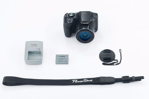 cámara canon sx530 hs zoom 50x 16mp detección de caras wifi