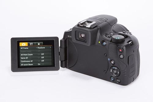 camara canon sx60 hs 16 mpx 65x zoom video full hd wifi