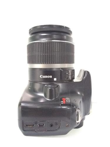 cámara canon t3 y lente 18-55mm
