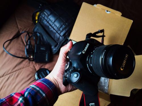 cámara canon t3i
