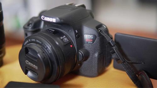 cámara canon t5i