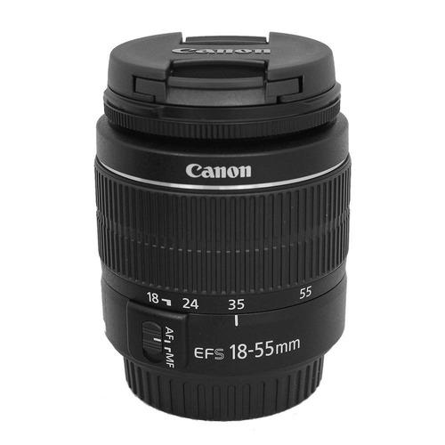 cámara canon t6 reflex + tripie +estuche + memoria sd 16