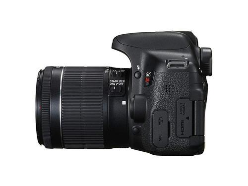 cámara canon t6i + lente 18-55mm is stm - techbox