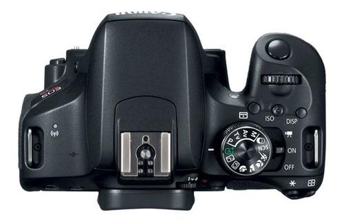 cámara canon t7i kit 18-55 is stm + 32gb + estuche.