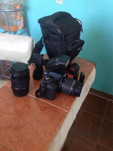 cámara canon y accesorios