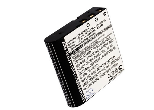 camara casio bateria pila