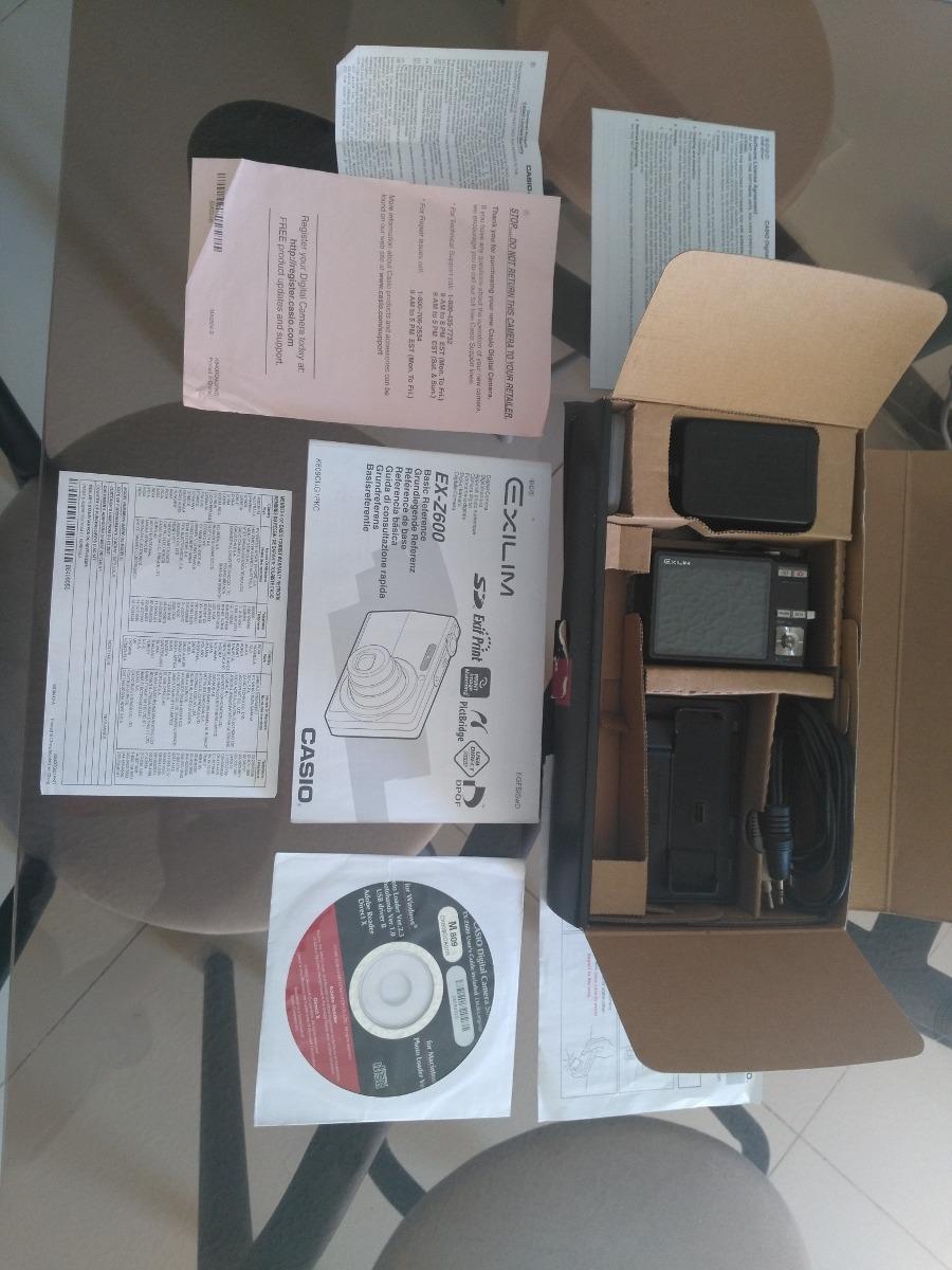 Vendo Camara Casio Exilim Ex-z600 Digital - $ 70.000 en Mercado Libre