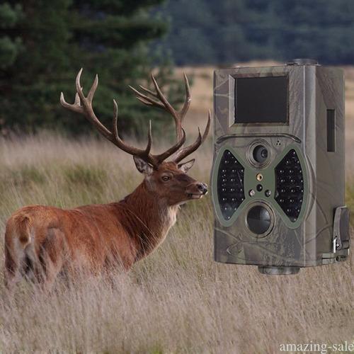 cámara caza vigilancia seguridad hc300a 12mpx nikko display