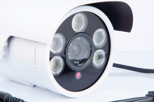 camara cctv 700tvl detección mov.potente led con alarma+rega