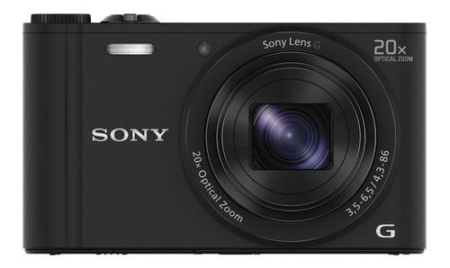 cámara compacta wx350 con zoom óptico de 20x