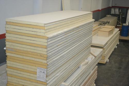 camara congelados panel 100mm puerta listo para armar x m2