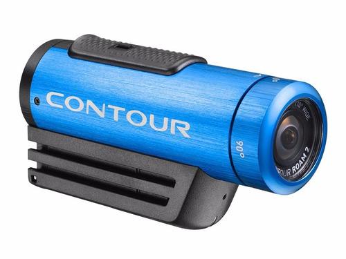 camara contour roam2 azul fullhd video motociclismo deporte