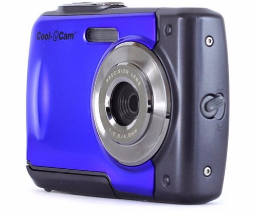 camara cool cam digital 8mp waterproof sumergible 3m zoom 4x