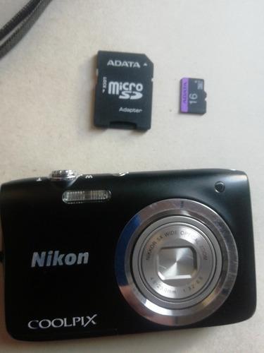 cámara  coolpix nikon a100