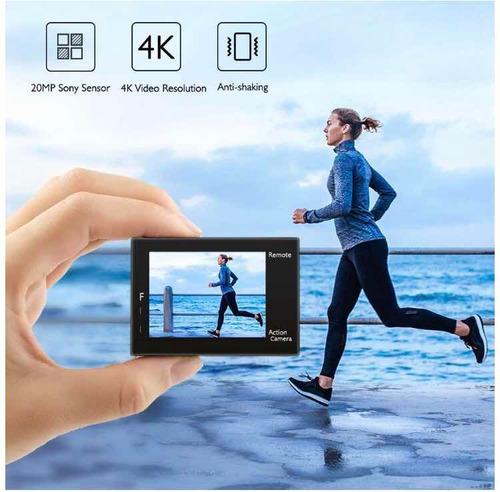 cámara de acción akaso 4k wifi sensor sony